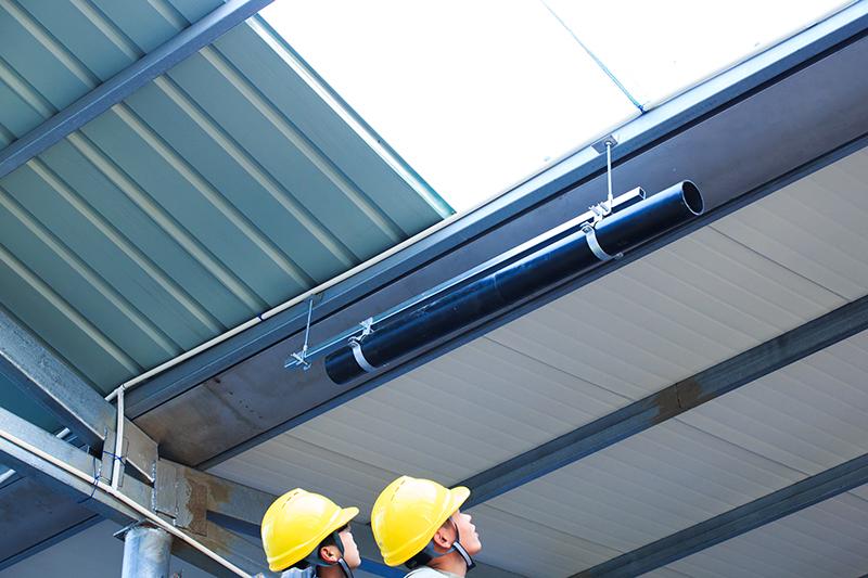 屋面排水管虹吸雨水管施工组织 智慧雨
