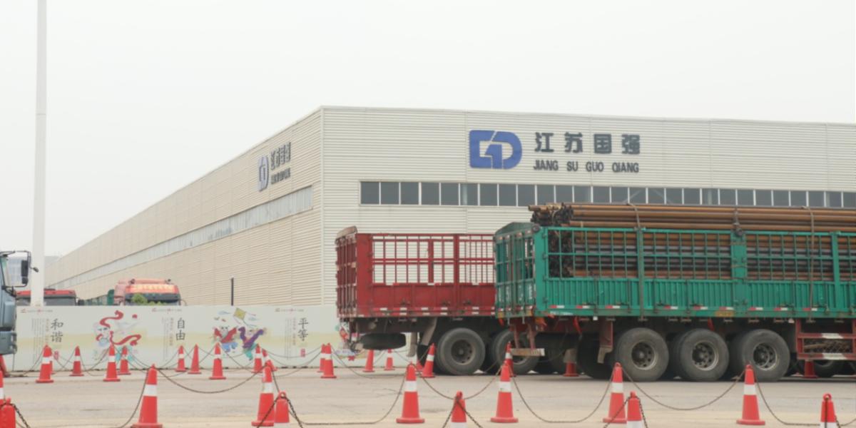 江苏国强镀锌实业有限公司屋面虹吸排水项目-智慧雨虹吸排水