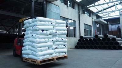 智慧雨优质排水管原料进厂