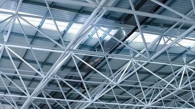 智慧雨钢结构厂房虹吸排水案例