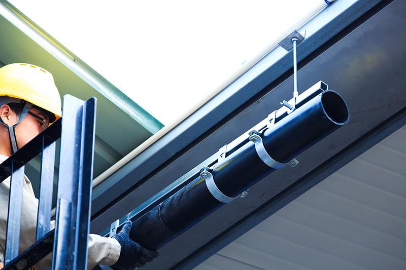屋面排水为什么用虹吸式排水管 智慧雨