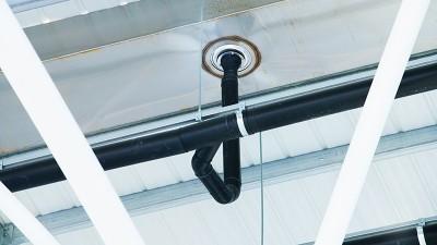 智慧雨悬吊管安装的方钢