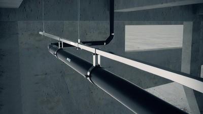 为什么虹吸排水安装要二次悬挂-虹吸排水安装示意图-智慧雨排水