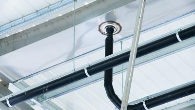 屋面排水系统采用虹吸式 智慧雨