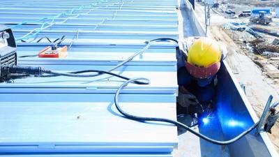智慧雨屋面虹吸排水系统安装