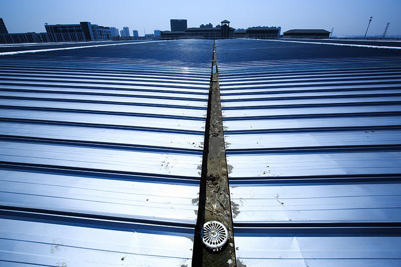 钢结构屋面虹吸排水系统维护 智慧雨