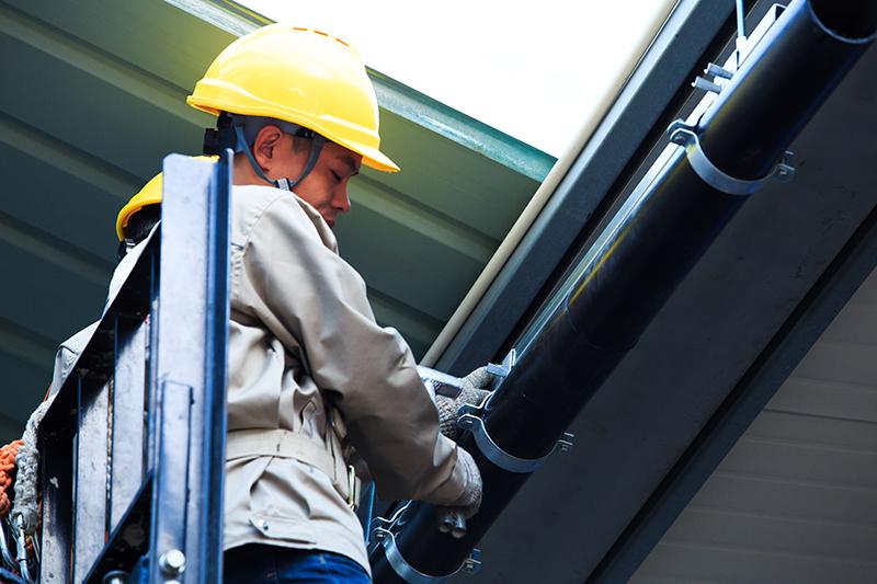 虹吸式屋面排水系统安装流程 智慧雨