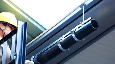 智慧雨虹吸排水管安装