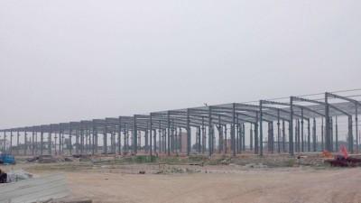 钢结构厂房案例 智慧雨