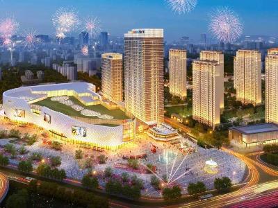 屋面虹吸排水设计在襄阳吾悦广场屋面排水中的应用-智慧雨虹吸排水