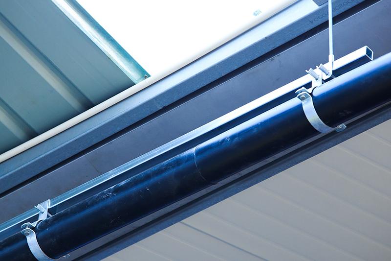 虹吸管道的固定系统安装_智慧雨排水